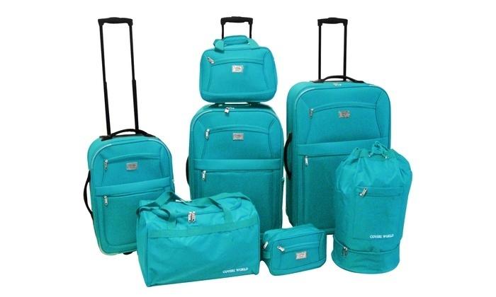 set-valigie-guess - Valigia Trolley 24f0de391596