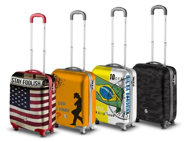 cd84e398b8 ... Eastpak Trolley 4 ruote Hybrid Tranzshell S Circle Planet Cabina; Come  ...